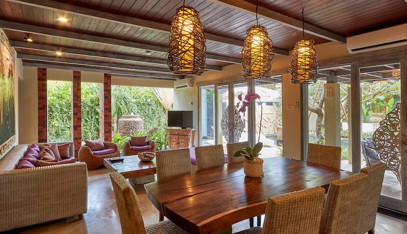 Villa Anggrek - Living and Dining Area