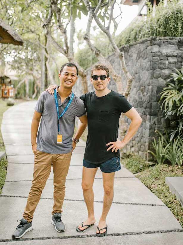 Jorge Lorenzo in Bali