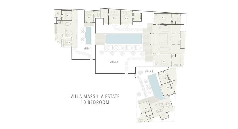 Villa Massilia MAP