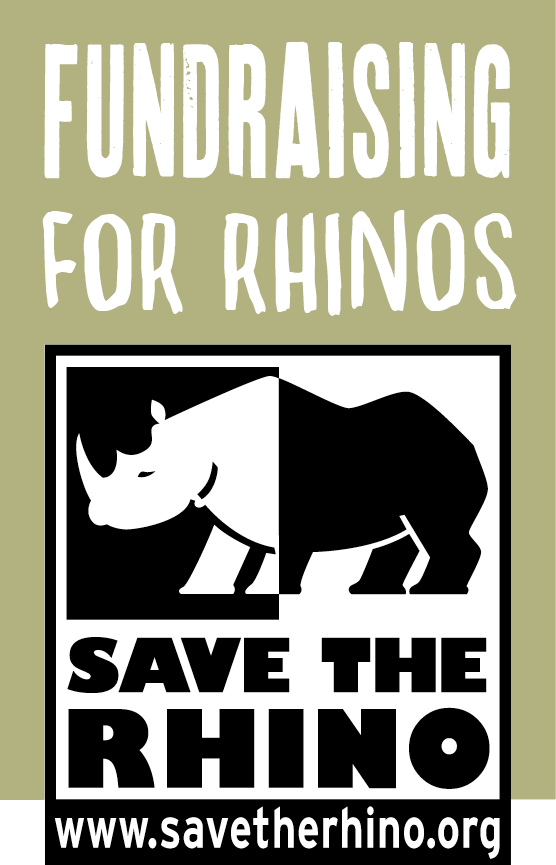 save the rhino poster