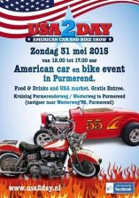 Poster USA2DAY 31 mei 2015