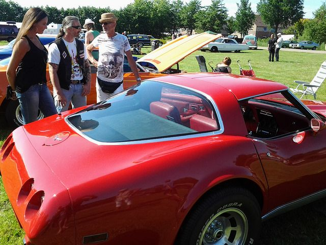 muscle car bij USA2DAY in Purmerend