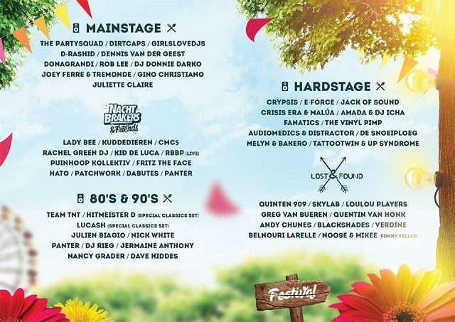 poster electronic picnic purmerend 2015