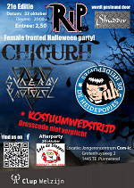 Rip halloween purmerend poster