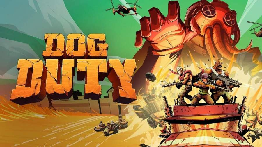 Dog Duty, un nuevo videojuego táctico en tiempo real, estará disponible para Nintendo Switch