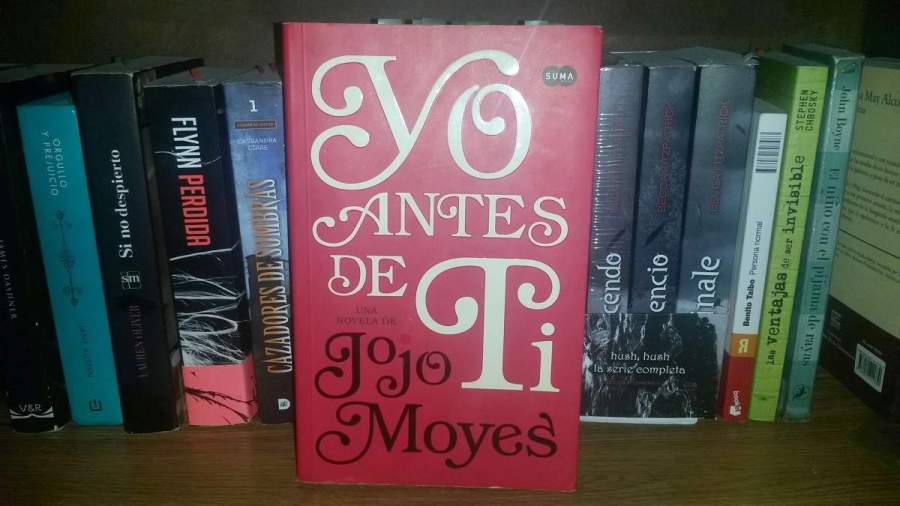 Libro recomendado: «Yo antes de ti» – Jojo Moyes