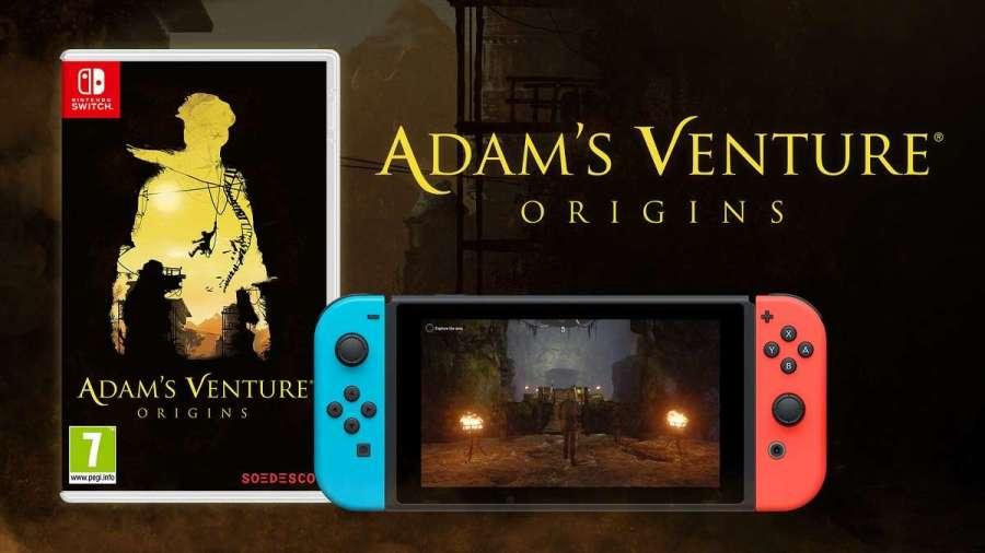 La edición física de  Adam's Venture®: Origins para Nintendo Switch™ llega a las tiendas