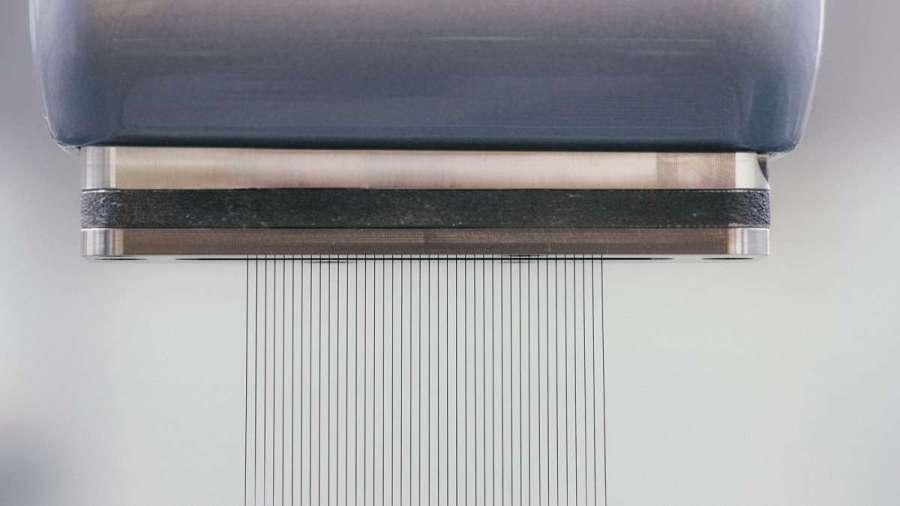 """Aplicación de pintura con una alta definición de los bordes y sin exceso de pintura pulverizada (""""overspray"""")"""