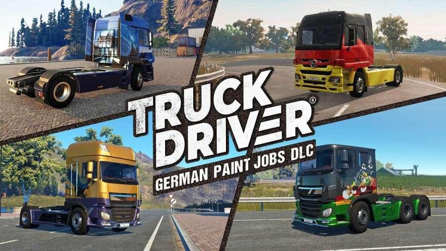 SOEDESCO® lleva el Oktoberfest a Truck Driver® con el contenido descargable «Trabajos de pintura alemana»