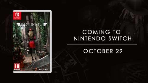Que comience la persecución: Dollhouse llega a Nintendo Switch el 29 de octubre
