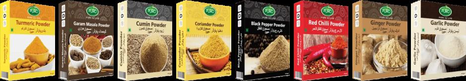 puro food spices range black pepper powder puro food masala masla brands