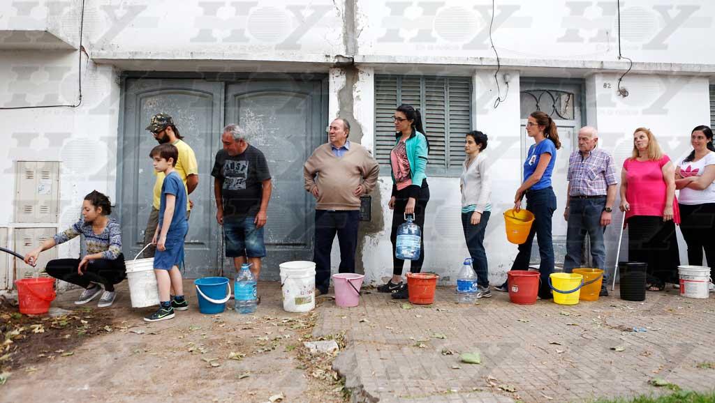 Vecinos de La Plata- Foto: Diario HOY