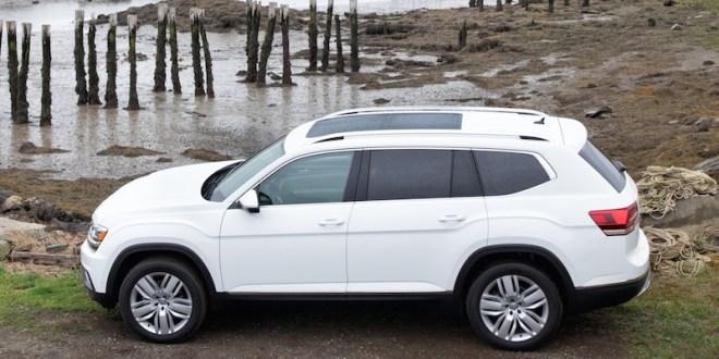 Volkswagen Atlas 2018 prueba de manejo