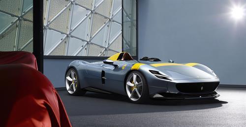 Ferrari lanza los Monza SP1 y SP2 para los coleccionistas