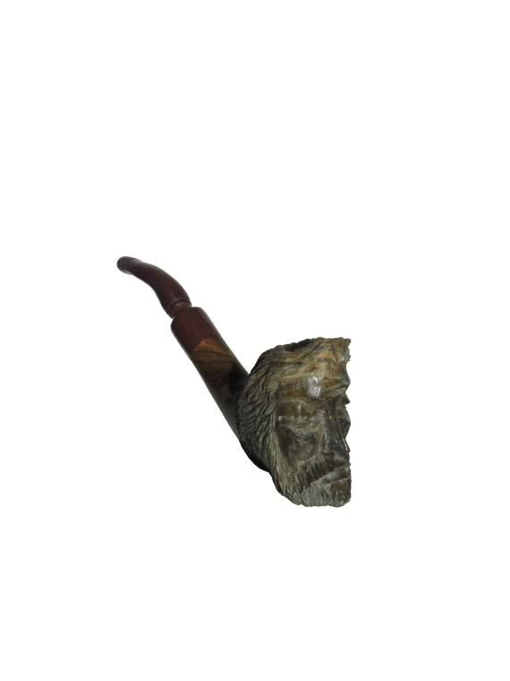 Acana Carved Face Pipe