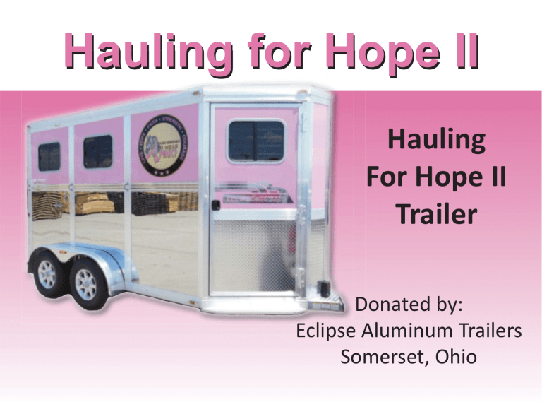 Hauling For Hope II[1]