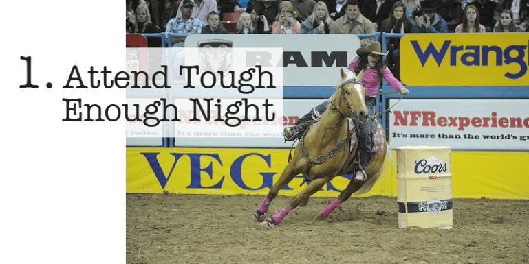 Attend Tough Enough Night at the WNFR
