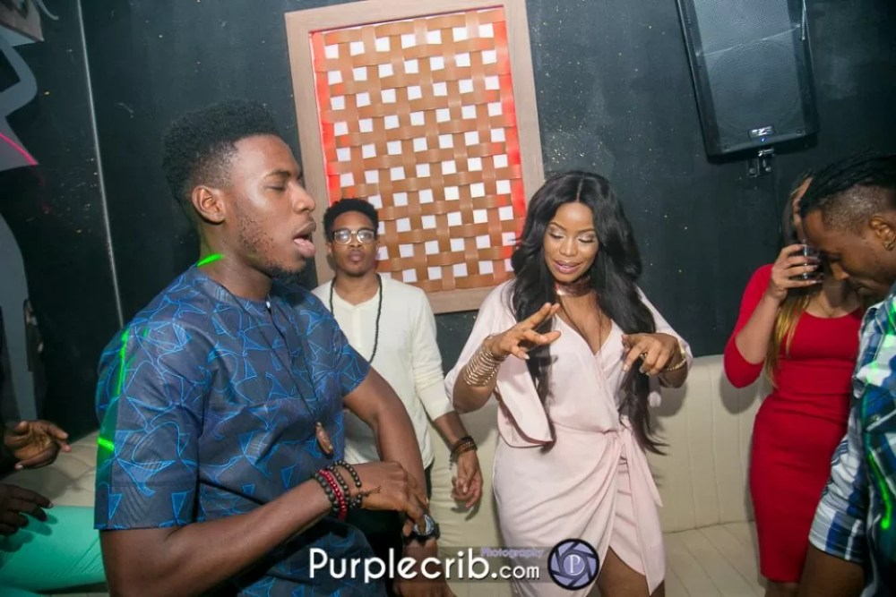 faze bithday party at club rumours vi Faze 2face Daddy Shoki Soma Gifty JonBig Brother Naija housemates Ese Purple crib studios Photos by kayode Ajayi Kaykluba 4 2