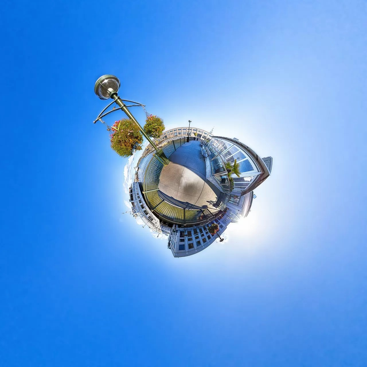 san francisco, little planet, 360