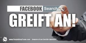 Facebook greift Suchmaschinen an