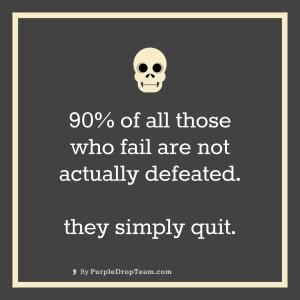 90% fail!