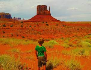 monument valley boy