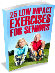 25 Low Impact Exercises For Seniors 3D eCover (Small)