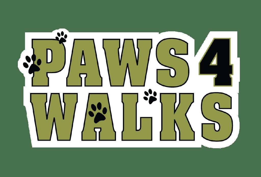 Paws 4 Walks Logo
