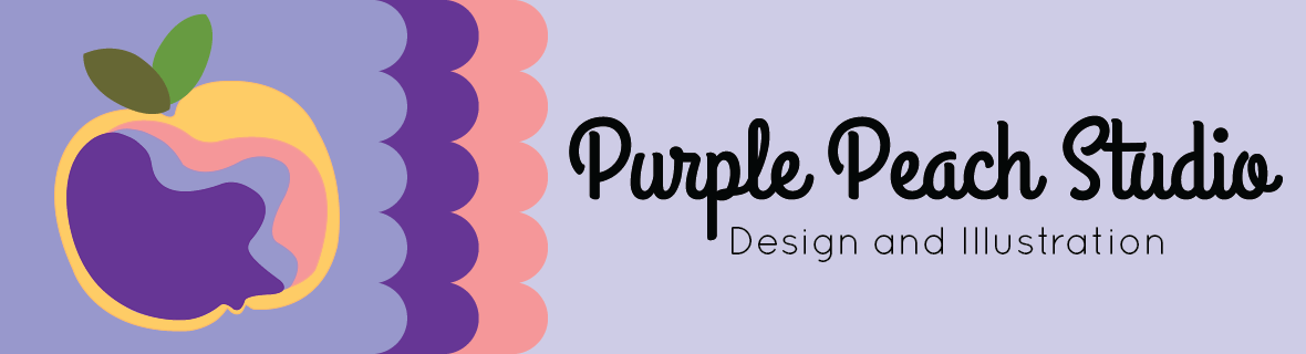 Purple Peach Studio Logo