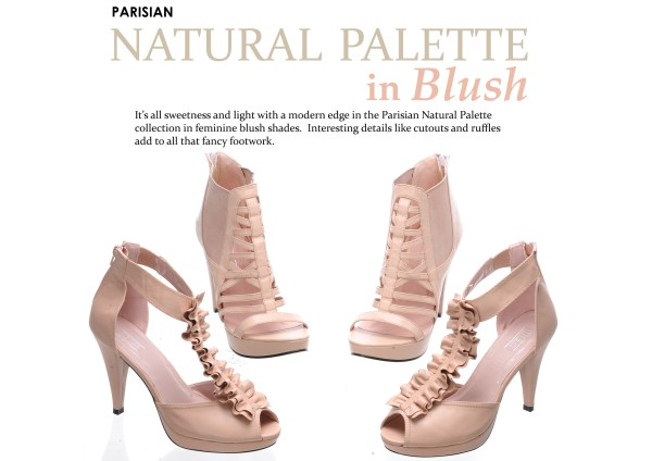 Parisian Shoes SM - Natural Blush