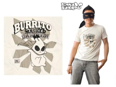Binky Burrow - Burrito the Masked Bandido Shirt