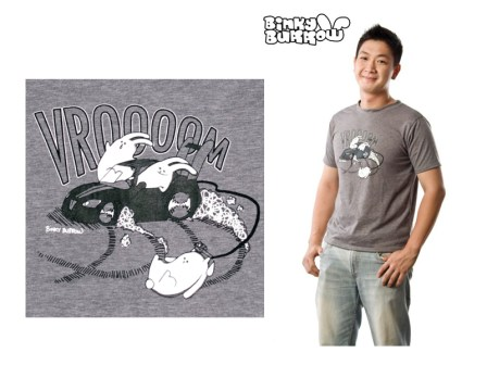 Binky Burrow - Vrooom shirt