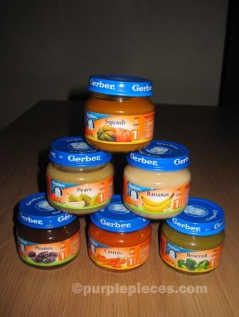 Gerber Baby Food - 1st Foods