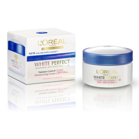 Loreal White Perfect Day Cream SPF17