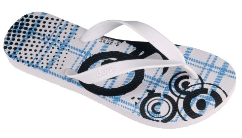 Dupe Slippers - Estampada Masculina_white