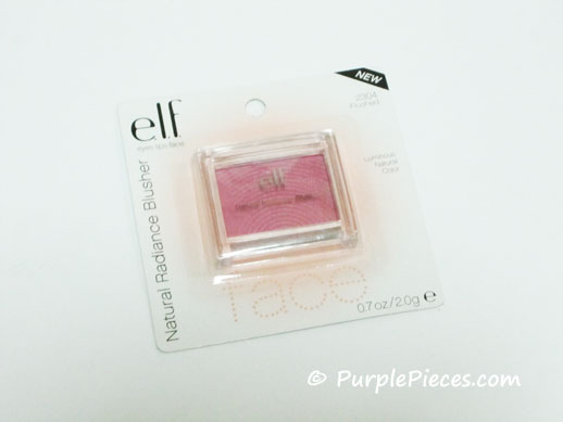 ELF Natural Radiance Blusher - Flushed