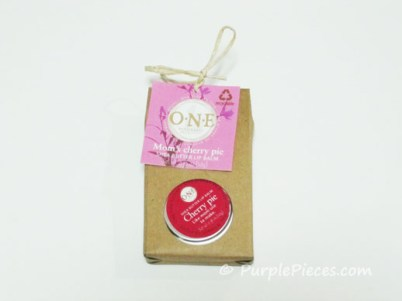 ONE Naturales - Mom's Cherry Pie Shea Butter Lip Balm
