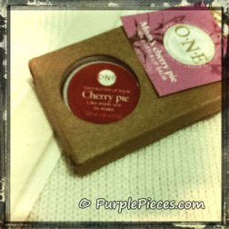 One Naturales Cherry Pie Lip Balm