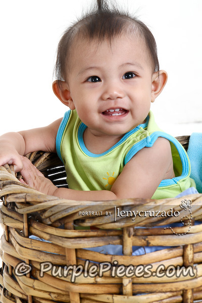 Baby Photography by Leny Cruzado - Basket