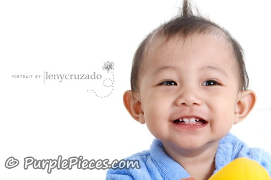 Baby Portraits by Leny Cruzado - Baby Zaiel Rivera