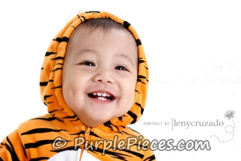 Baby Photo Shoot with Costumes - Baby Zaiel Rivera