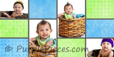 Birthday Guestbook - Baby Boom by Leny Cruzado