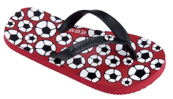 Dupe Slippers - Bola_Red