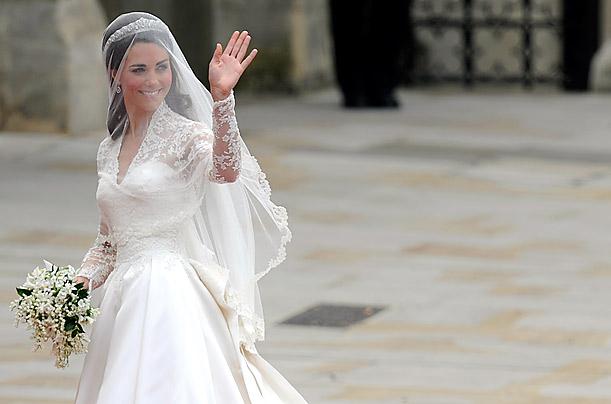 Kate Middleton\'s Wedding Gown by Sarah Burton