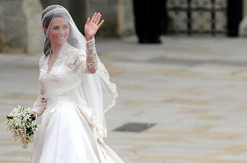 Kate Middleton Wedding Dress by Sarah Burton