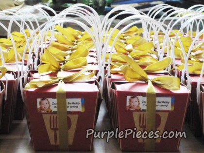 23 - personalized chinese take out boxes