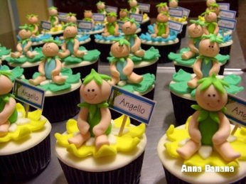 Birthday Cupcakes - Anna Banana