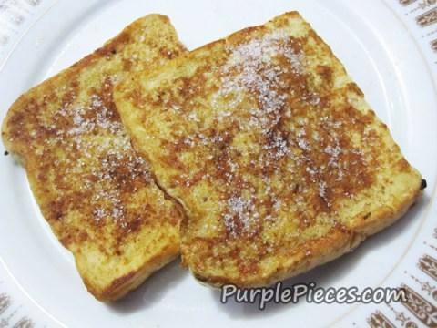 Bud's Cinnamon French Toast