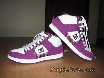 DC Shoes Purple