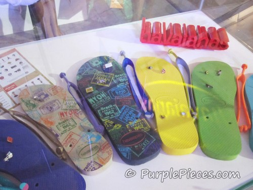 Havaianas Limited Edition Soles - MYOH 2011 Travel